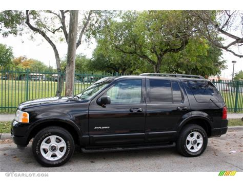 2002 ford explorer black clearcoat 2002 ford explorer limited 4x4 exterior