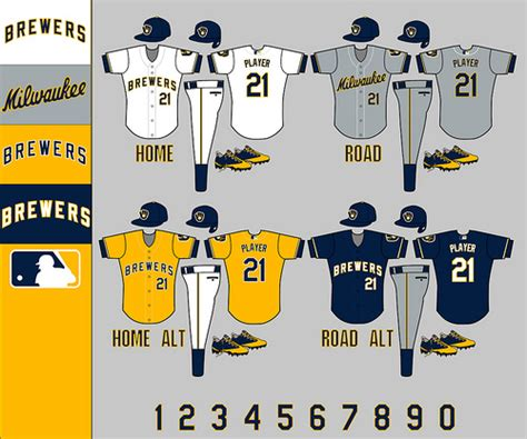 30 Square Meters Milwaukee Brewers Uniforms Flickr Photo Sharing