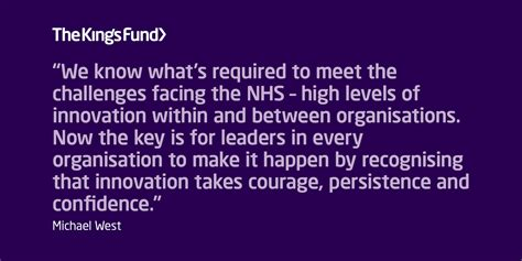 compassion  innovation   nhs  kings fund