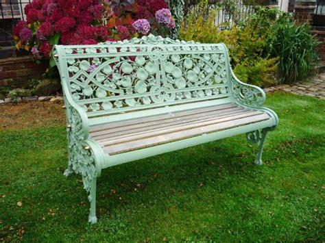 coalbrookdale nasturtium antique victorian garden bench 3847