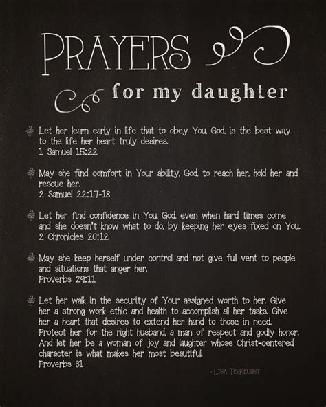 printable quotes about daughters 5 prayers for my daughter free printable what i want