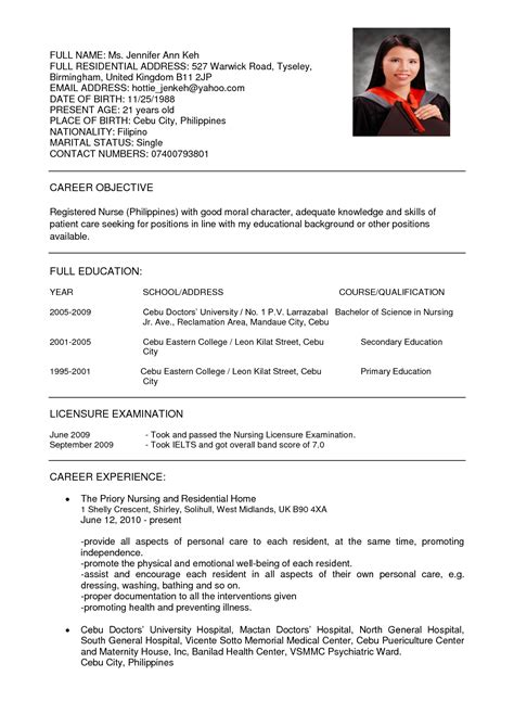Curriculum Vitae Sle For Registered Free Sle Er Practitioner Sle Resume Resume Daily