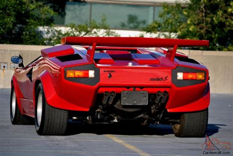 Lamborghini Countach Modified by Pin Pin Lamborghini Countach 1986 Pictures 187 Modified Cars