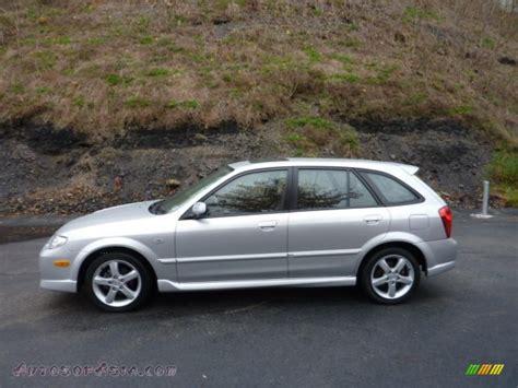 2003 mazda protege wagon 2003 mazda protege 5 wagon in sunlight silver metallic