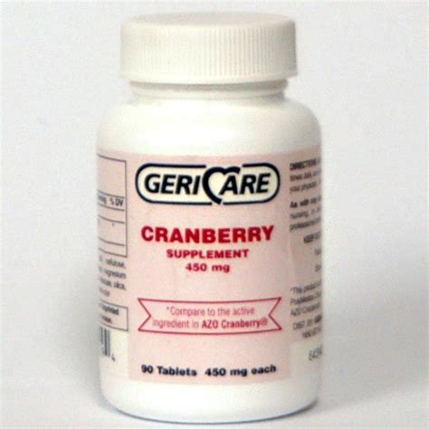 Azo Cranberry Pills Detox by Cranberry Supplement Pills 100 Tablets 450 Mg