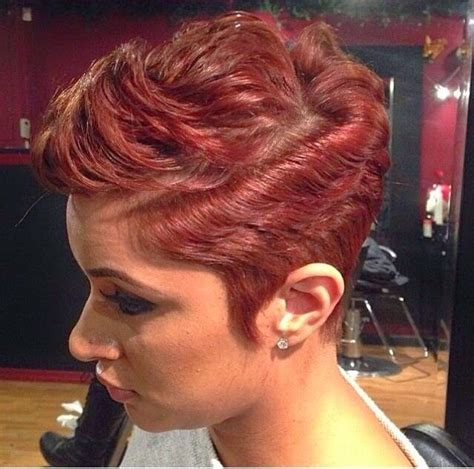 hairstyles on pinterest black women short hairstyles and round fac 95 best images about edgy on pinterest shorts short