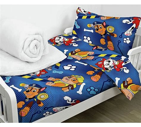 bed sets argos buy paw patrol bed in a bag set toddler at argos co uk