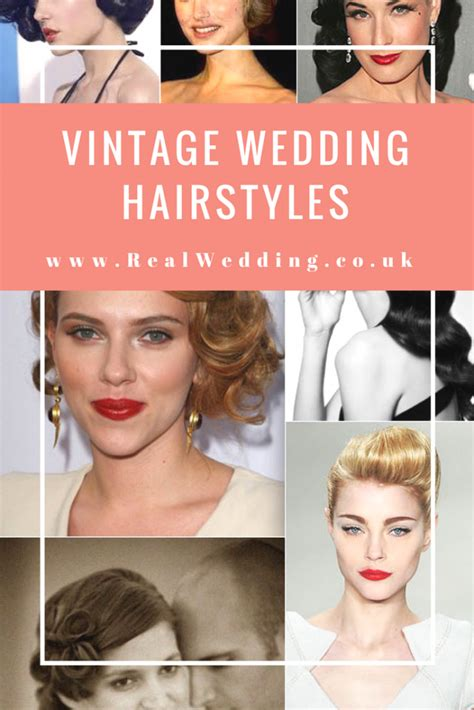 Vintage Wedding Hair Uk by Vintage Styled Haircuts And Hairstyles For Your Wedding