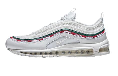 Nike Air Max 97 Undefeated White Sepatu Jalan Pria Sneakers Premium undefeated x nike air max 97 white fastsole co uk