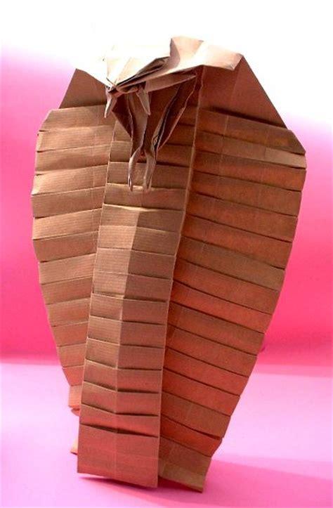 Origami Cobra - ronald koh gilad s origami page