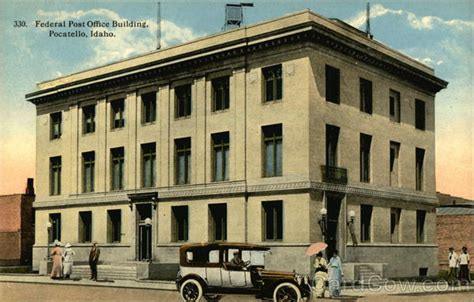Pocatello Post Office federal post office building pocatello id