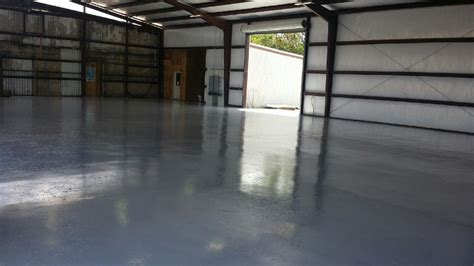 Large Warehouse Floors & Three Car Garage Floors   5 Star