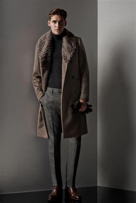 Jaket Polkadot Sweater Hitam 21 fur collar coat for styleoholic