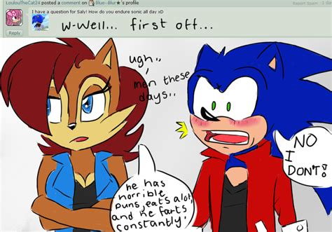 Sorry Sally by Ask Sonic Sally 6 By Mightymorg On Deviantart
