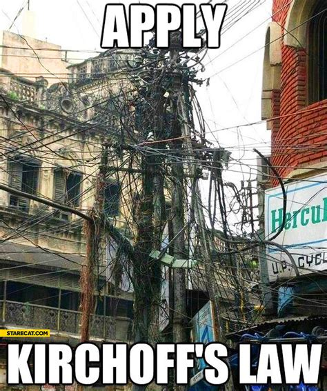 apply kirchoff s law cable mess starecat com