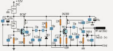 rf signal jammer circuit
