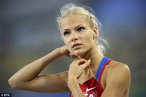 darya klishina tattoo russian jumper darya klishina cleared to compete at