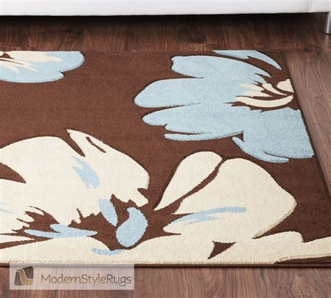 flower pattern rugs rapello amazon brown and teal blue rug flower pattern rug