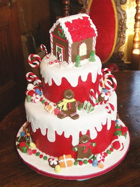 beautiful christmas cake decoration let s celebrate