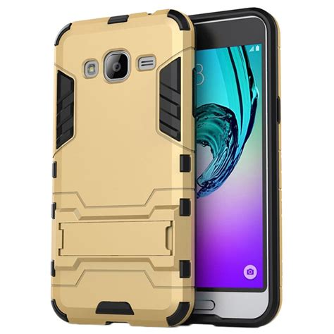 samsung galaxy j3 2015 hybrid detachable stand gold