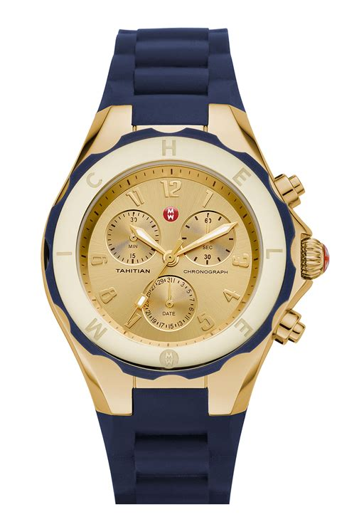 michele tahitian jelly bean 40mm gold in gold gold