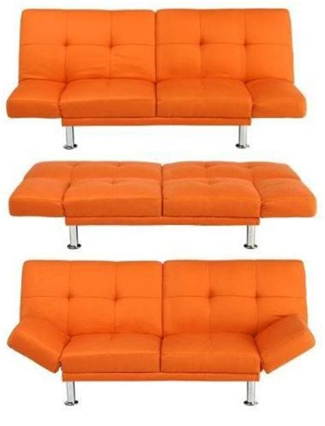 Orange Futons by Orange Futon From Target College M