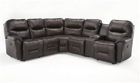 best reclining sectional sofa best home furnishings bodie six reclining sectional