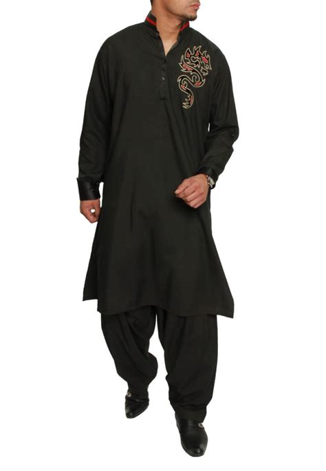 Pakistani Shalwar Kameez Designs 2014 For Men 009   Life n Fashion