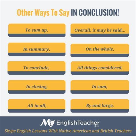 Linking Words To Conclude An Essay by What Are The Other Ways To Say In Conclusion