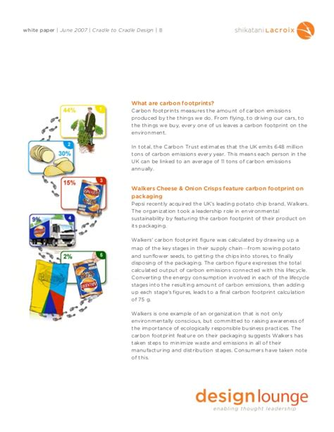 Cradle To Cradle Research Paper by Cradle To Cradle Design