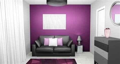 Charmant Chambre Violette Et Grise #2: image-d%C3%A9coration-chambre-violet-et-gris.jpg