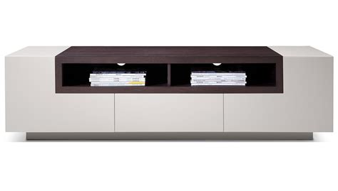 Best Dining Room Furniture Brands high gloss grey tv stand media console with dark oak