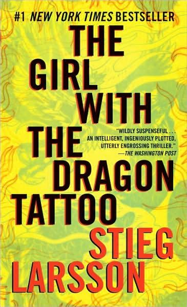 author of the girl with the dragon tattoo 45 the with the by stieg larsson