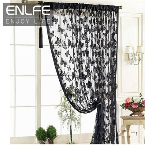Kitchen Door Curtains Enlfe New Fashion 1pc H200cm X W100cm Kitchen Door Curtains Bedroom Butterfly Door Curtain