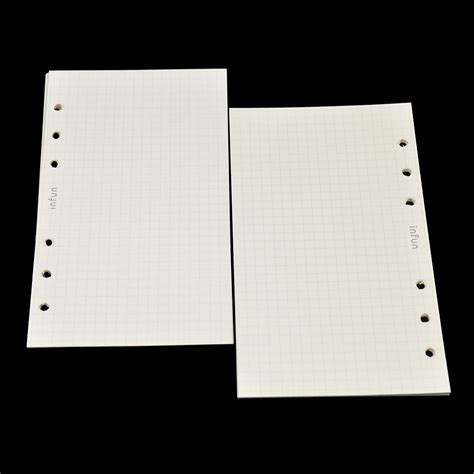 Leaf A5 Office Mate 50 Sheets Murah a6 leaf inner paper binder notebook replacement office supply 50 sheets ebay