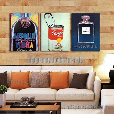 posters for living room aliexpress buy absolute vodka pop poster 3 wall painting pictures