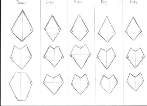 gauntlet template gauntlet pattern for age hawke by hail260