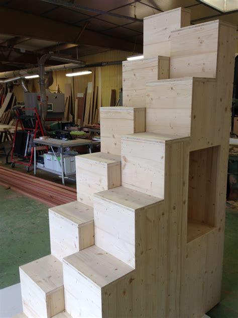 Escalier Pas D Cal 1630 by Escalier Sur Mesure Menuiserie Chazalon Privas Ard 232 Che