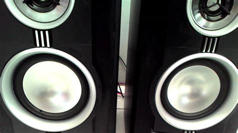Speaker Simbadda speaker polytron psw 600 subwoofer simbadda cst 6000