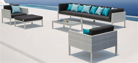Florence Wicker Outdoor Lounge   OceanWeave Furniture NZ