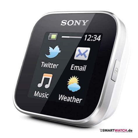 Smartwatch I One Sony Smartwatch 1 Smartwatch De
