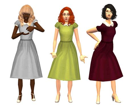 Will You Your Lbd For A Purple Version This Aw by Mod The Sims It On Cutsie Dresses For Your Big