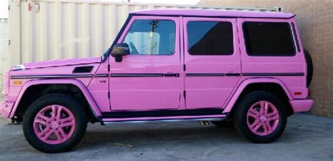 pink mercedes png it can t get any pinker than that the pink g class