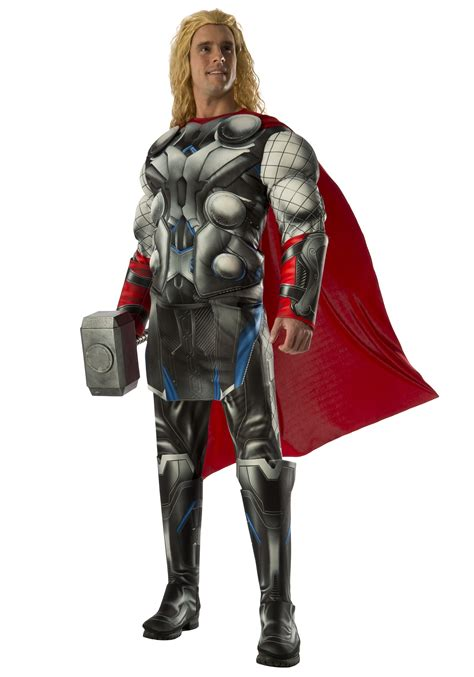 marvel age of ultron thor boys costume costume deluxe thor 2 costume