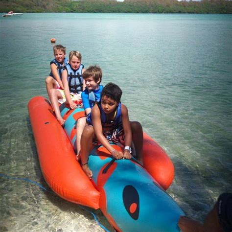 banana boat rides shandrani resort spa mauritius - Banana Boat Ride Mauritius