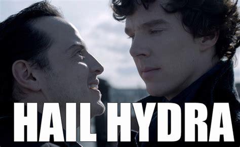 Hail Hydra Meme - moriarty you villain the best of the hail hydra meme
