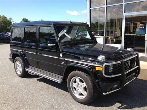 how does cars work 2005 mercedes benz g class engine control sell used 2005 mercedes benz g55 grand edition one owner only 18k miles amg carbon trim in