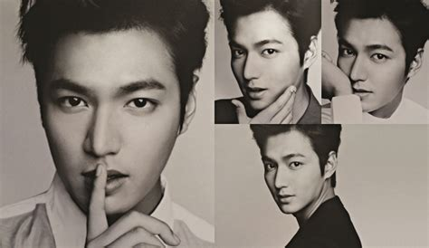 lee min ho latest news 2014 lee min ho s new black white pictorial for bench s s s
