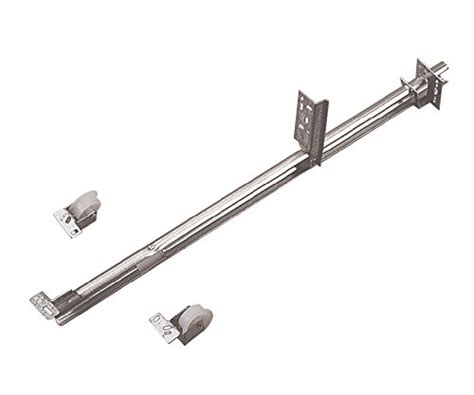 monorail drawer track roller knape vogt 1175pzc22 22 quot zinc single track drawer slide