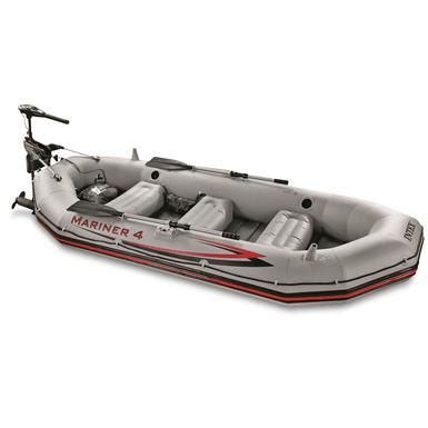 inflatable boat kit intex mariner 4 complete inflatable boat kit 678916